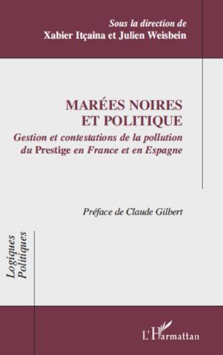 Couverture Marées noires et (sciences sociales du) politique