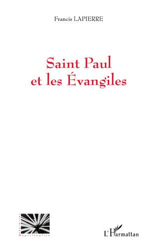 Couverture Saint Paul et les Evangiles