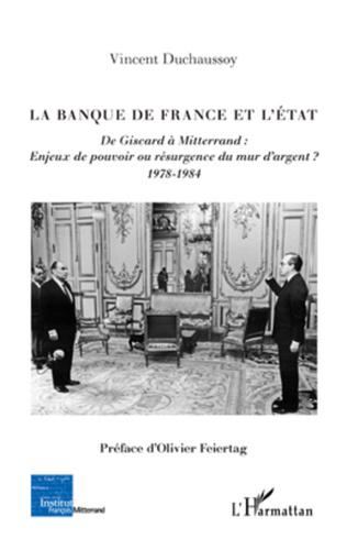 Couverture La Banque de France et l'Etat