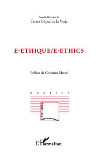 Couverture E-ethique / E-ethics