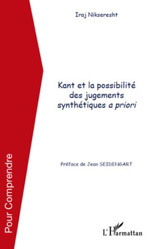 Couverture Kant et la possibilité des jugements synthétiques a priori