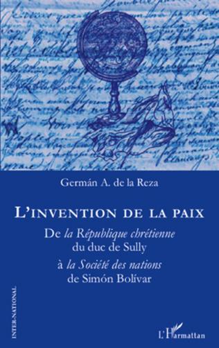 Couverture L'invention de la paix