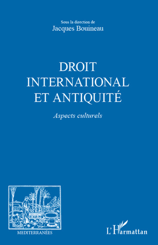 Couverture Droit international et Antiquité