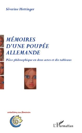 Couverture Mémoires d'une poupée allemande