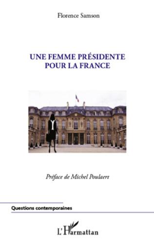 Couverture Une femme présidente pour la France