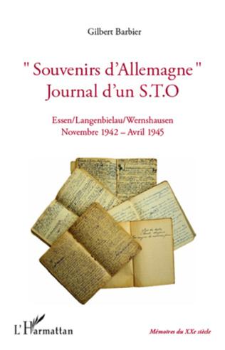 Couverture Souvenirs d'Allemagne, journal d'un STO