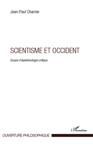 Couverture Scientisme et occident
