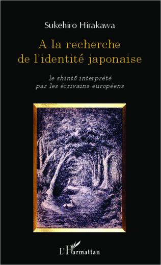 Couverture A la recherche de l'identité japonaise