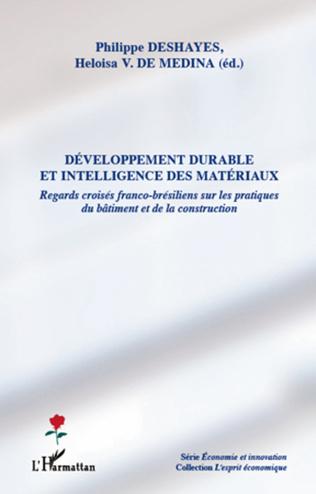Couverture Développement durable et intelligence des matériaux