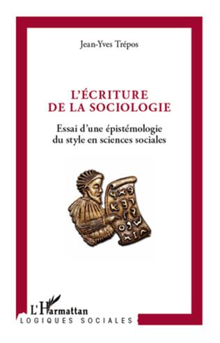 Couverture L'écriture de la sociologie