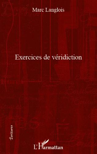 Couverture Exercices de véridiction