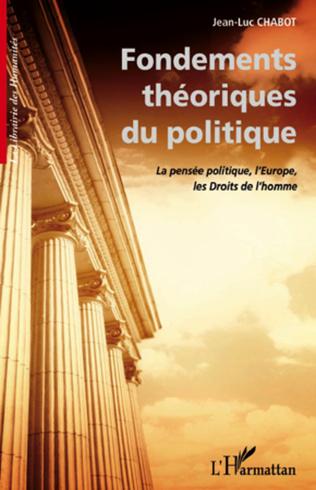 Couverture Fondements théoriques du politique