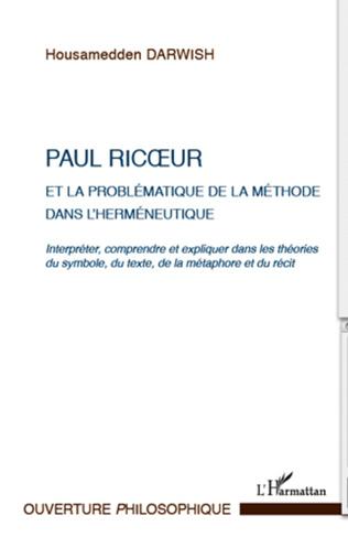 Couverture Paul Ricoeur et la problématique de la méthode dans l'herméneutique