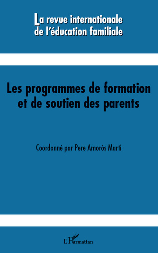 Couverture Les programmes de formation et de soutien des parents