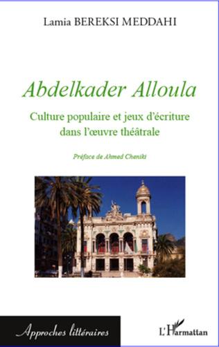 Couverture Abdelkader Alloula