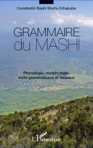 Couverture Grammaire du mashi