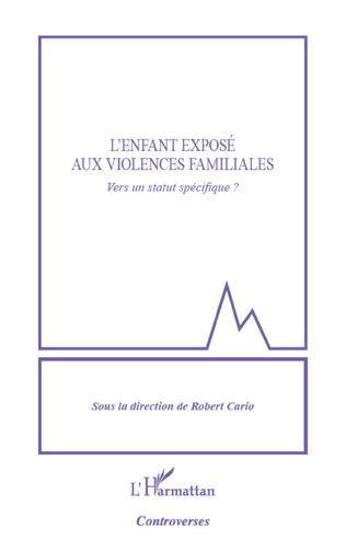 Couverture Enfant exposé aux violences familiales
