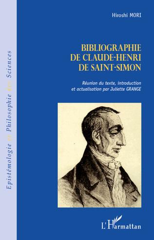 Couverture Bibliographie de Claude-Henri de Saint-Simon