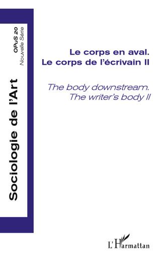 Couverture Le corps en aval