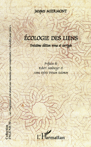 Couverture Ecologie des liens