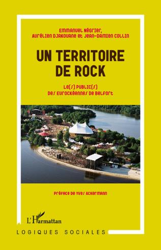 Couverture Un territoire de rock