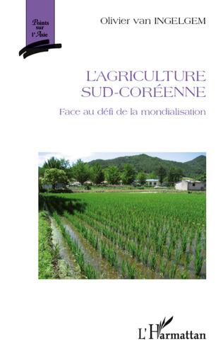 Couverture L'agriculture sud-coréenne