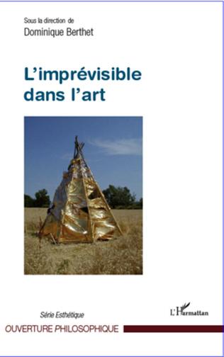 Couverture L'imprévisible dans l'art