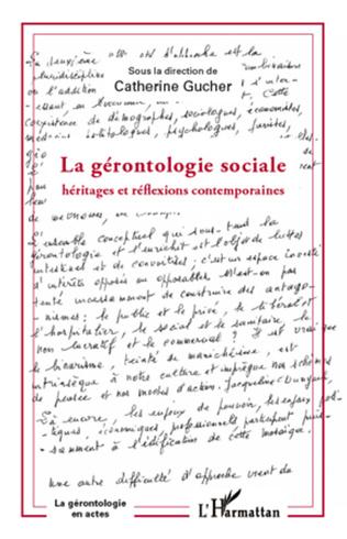 Couverture Gérontologie sociale