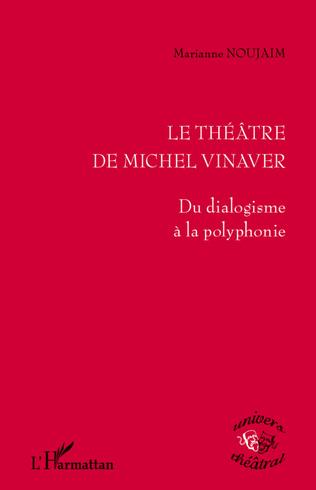 Couverture Le théâtre de Michel Vinaver