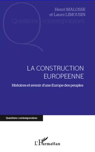 Couverture La construction européenne