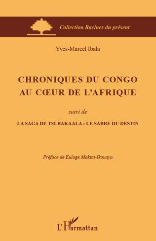 Couverture Chroniques du Congo au coeur de l'Afrique