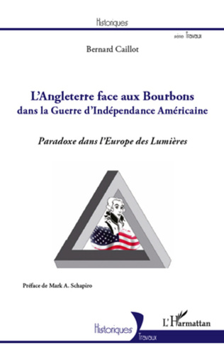 Couverture Angleterre face aux Bourbons dans la guerre d'Indépendance Américaine