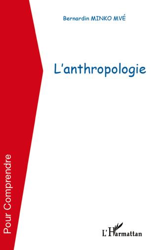 Couverture L'anthropologie