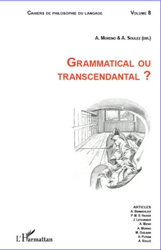 Couverture GRAMMATICAL OU TRANSCENDANTAL