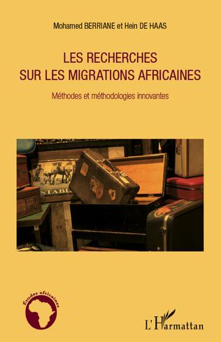 Couverture Les recherches sur les migrations africaines