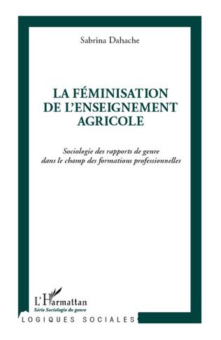 Couverture La féminisation de l'enseignement agricole
