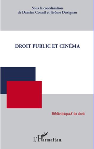 Couverture Droit public et cinéma