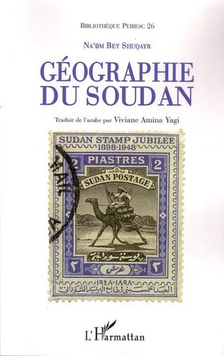 Couverture Géographie du Soudan