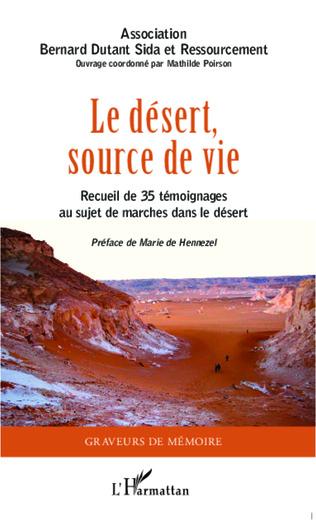 Couverture Le désert source de vie