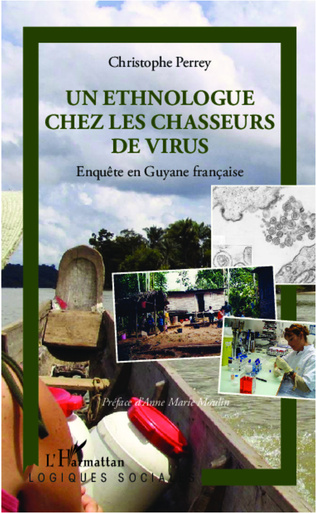 Couverture Un ethnologue chez les chasseurs de virus