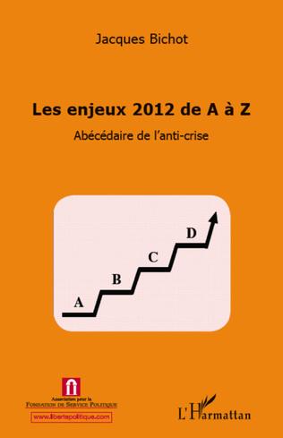 Couverture Enjeux 2012 de A à Z