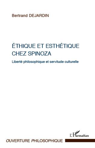Couverture Ethique et esthétique chez Spinoza