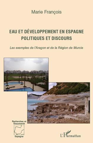 Couverture Eau et développement en Espagne