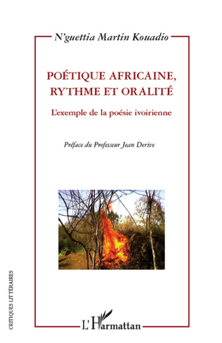 Couverture Poétique africaine, rythme et oralité