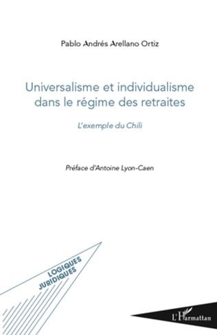 Couverture Universalisme et individualisme dans le régime des retraites