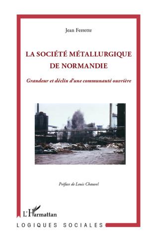 Couverture Société métallurgique de Normandie