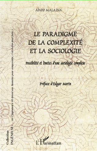 Couverture Paradigme de la complexité et la sociologie
