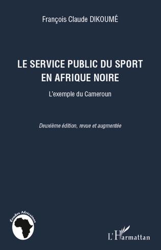 Couverture Le service public du sport en Afrique noire