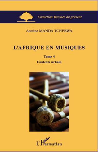 Couverture L'Afrique en musiques (Tome 4)