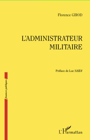 Couverture L'administrateur militaire